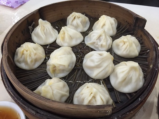 Pork and crab xiao long bao - Jia Jia Tang Bao