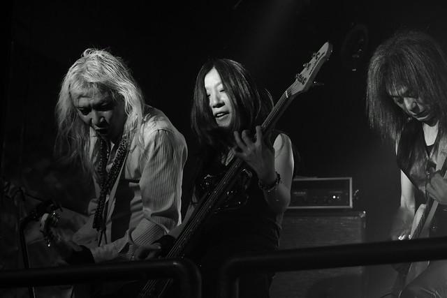Bubble No.7 live at Outbreak, Tokyo, 14 Dec 2015. 371