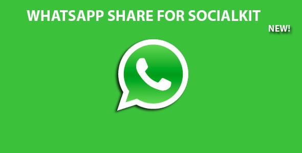CodeCanyon Whatsapp Share For Socialkit v1.0