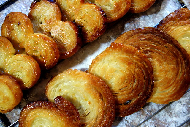 Inverted puff pastry, palmier