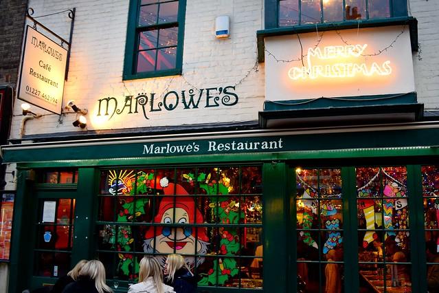 Marlows Christmas Window, Canterbury | www.rachelphipps.com @rachelphipps