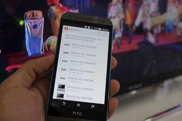 điều khiển tv bằng smartphone