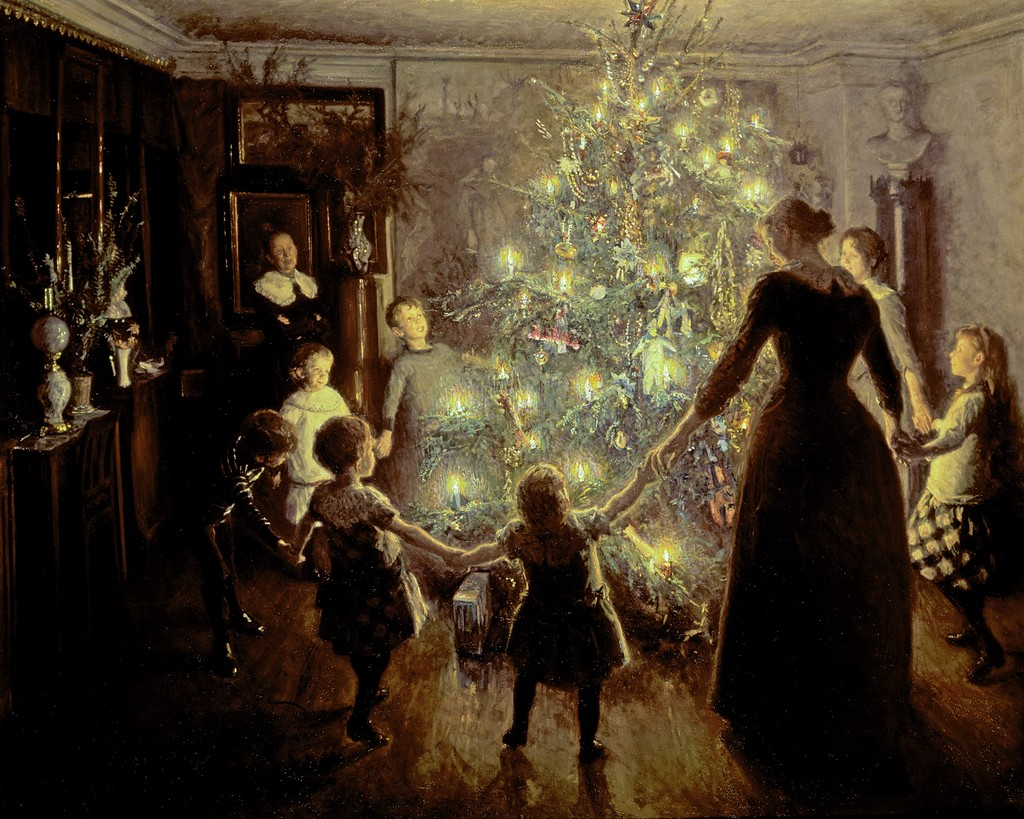 Silent Night by Viggo Johansen, 1891