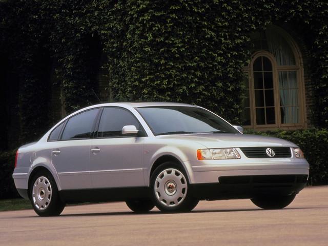 Седан Volkswagen Passat (B5) для рынка США. 1997–2000 годы