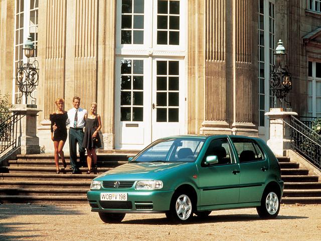 Пятидверный Volkswagen Polo (Typ 6N). 1994 – 1999 годы