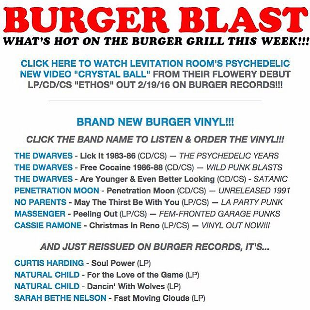 CHECK OUT THE NEW BURGER BLAST BY SIGNING UP FOR THE BURGE