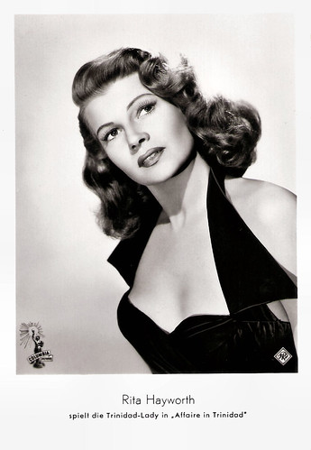 Rita Hayworth in Affair in Trinidad (1952)