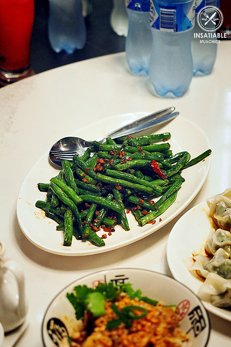 Stir Fried Green Beans with Pork Mince, Taste of Shanghai, World Square. Sydney Food Blog Review