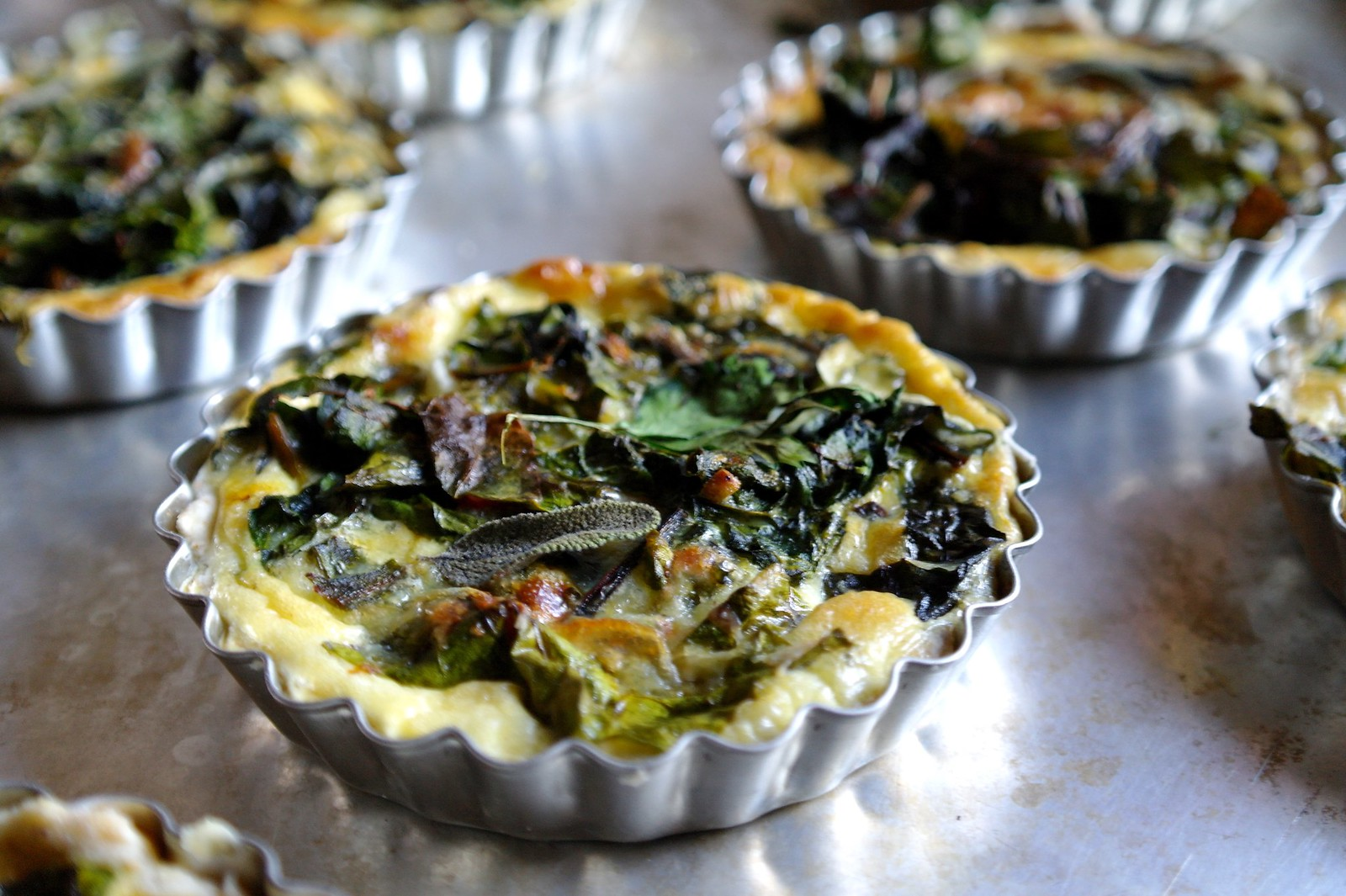 swiss chard and gruyere quiche | ten.times.tea