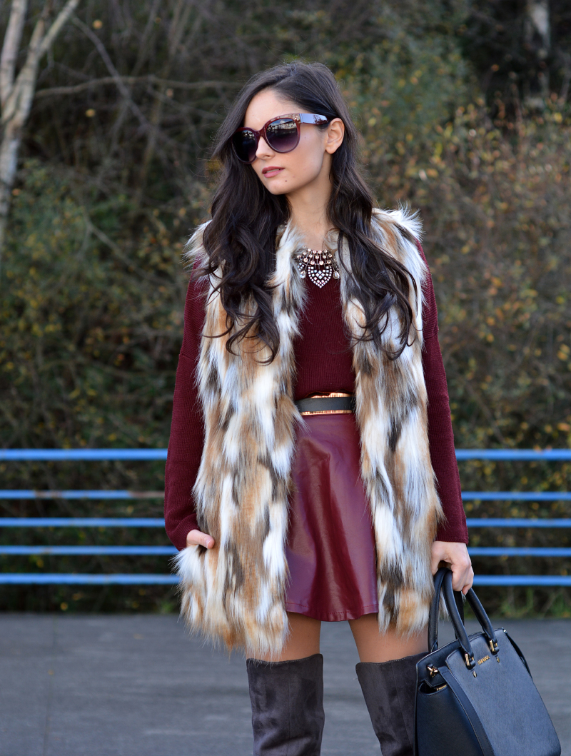 zara_ootd_highboots_burdeos_burgundy_vest_michael kors_03