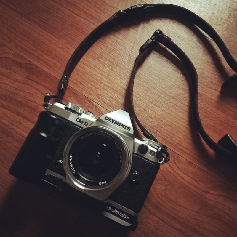 What a beautiful camera. #em5mk2 #em5mkii #Olympus #camera