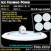 Tool Shed - Ice Fishing Pond Mesh Kit Ad