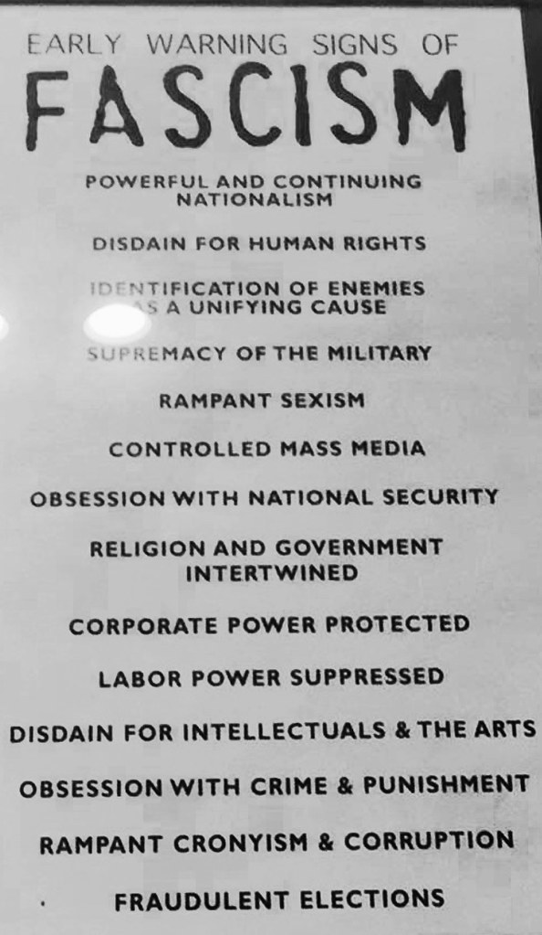 Early Signs Of Fascism >> Early Warning Signs Of Fascism Well Crap This Is From Th Flickr