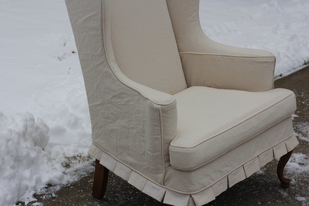 Marvelous Wingback Chair Slipcover Side Jessica Kovach Flickr Pdpeps Interior Chair Design Pdpepsorg