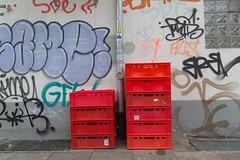 waiting crates