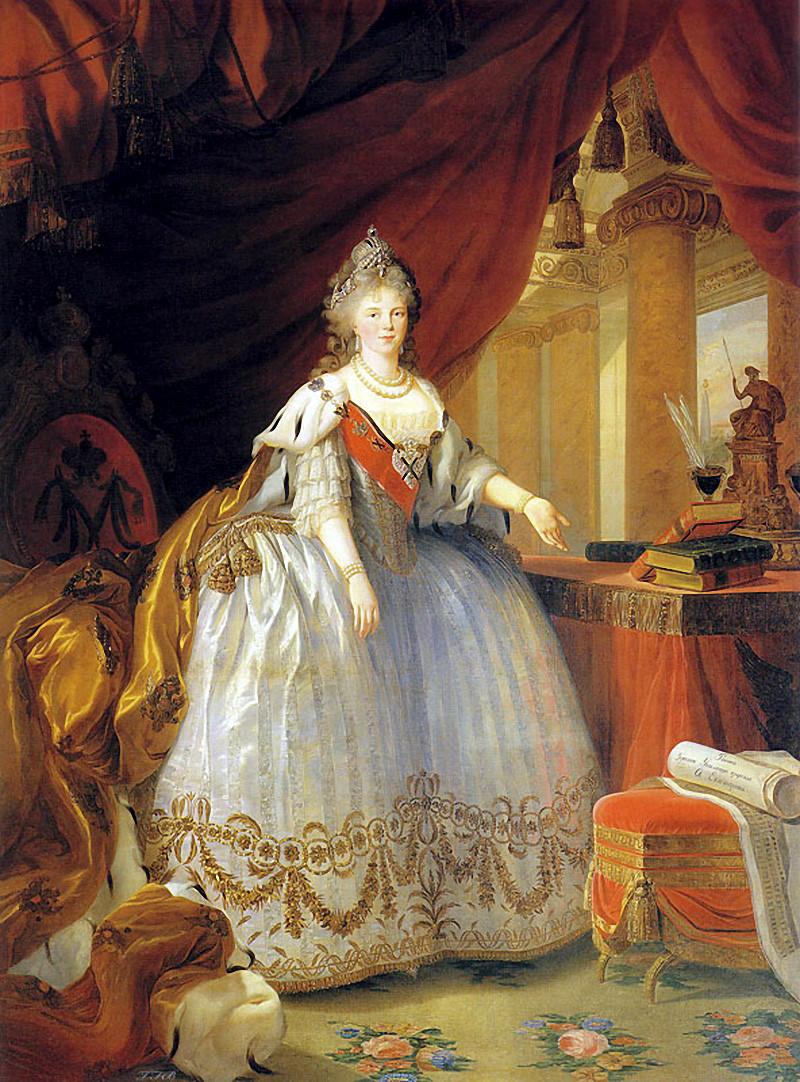 Empress Maria Feodorovna, 1799