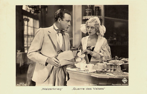 Rose Barsony and Willy Fritsch in Walzerkrieg (1933)