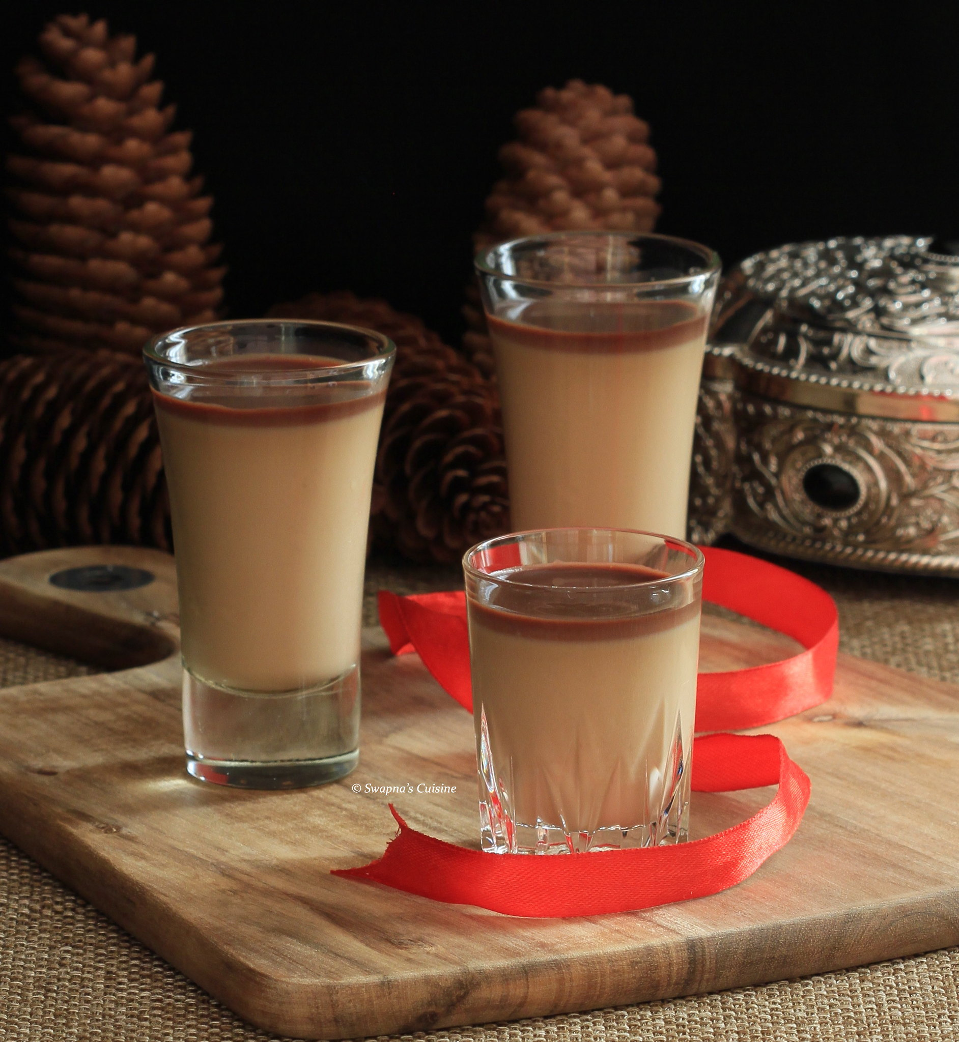 Swapna's Cuisine: Espresso Panna Cotta