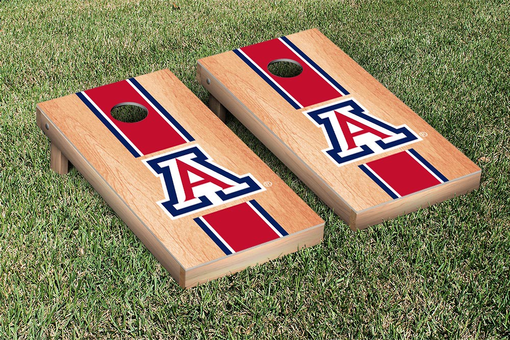 Arizona Wildcats Hardcourt Triangle Version