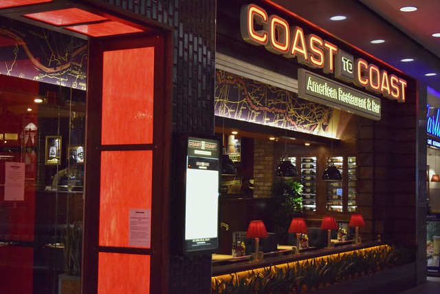 Coast to coast restaurant, Aberdeen