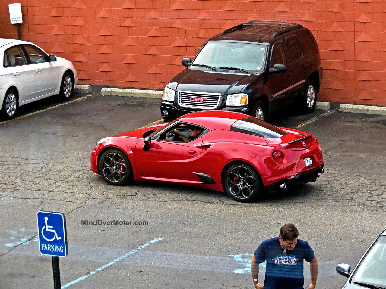 Alfa Romeo 4C Woodward Ave 6
