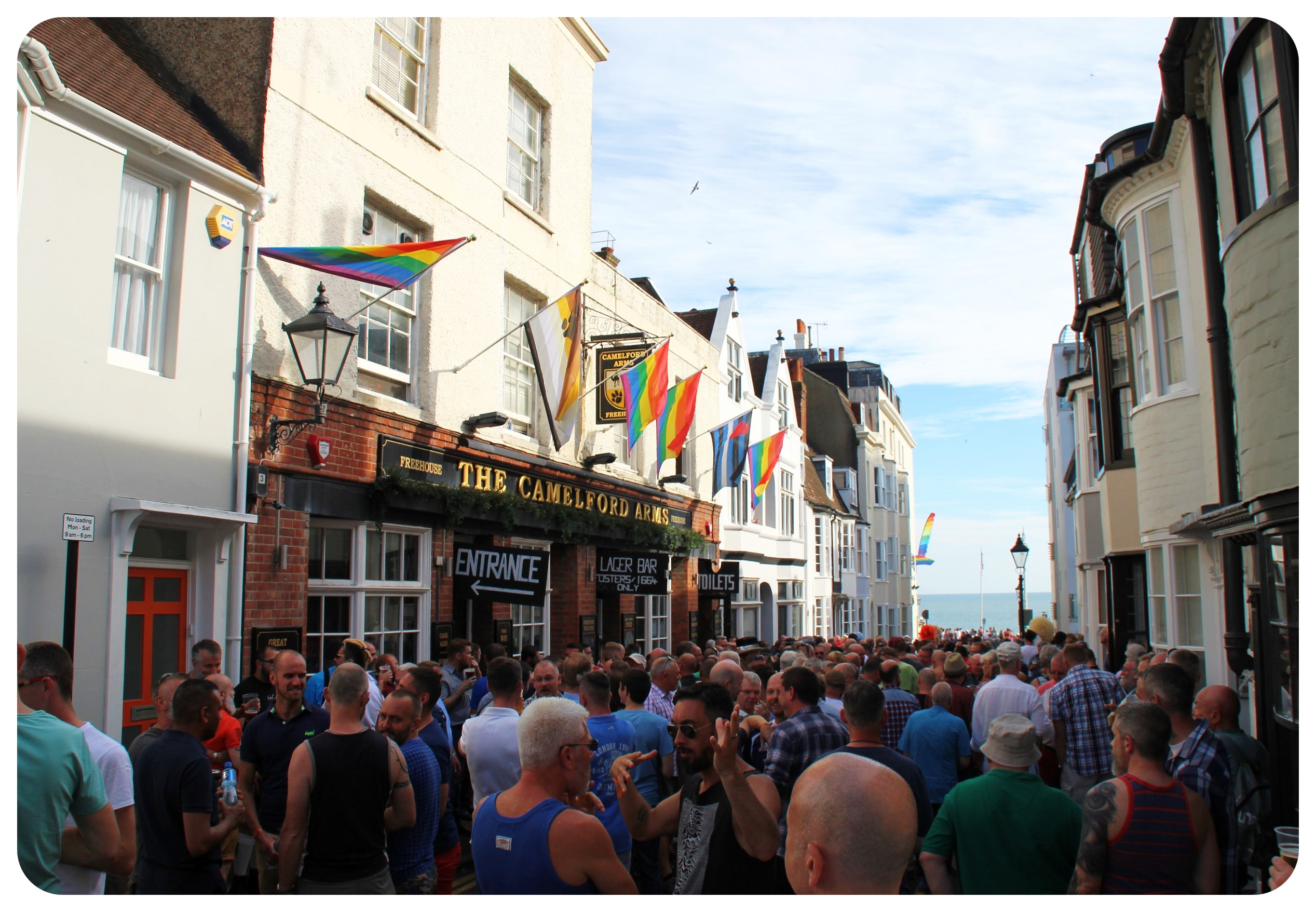 brighton pride fest 2015 street party