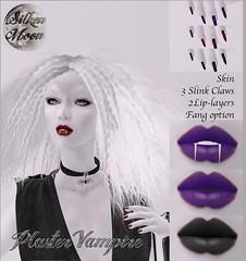 Silken Moon Plaster Vampire Ad