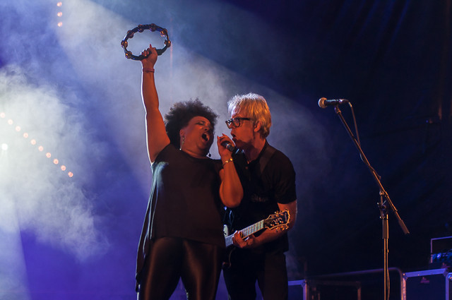 The Bellrays, Plaza Porticada (Santander), 19 de Julio de 2015