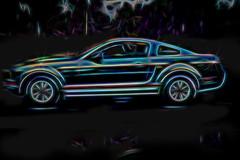 auto show(0.0), muscle car(0.0), automobile(1.0), boss 302 mustang(1.0), wheel(1.0), vehicle(1.0), automotive design(1.0), rim(1.0), concept car(1.0), land vehicle(1.0), supercar(1.0), sports car(1.0),