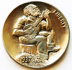 Ron Landis Hobo nickel banjo 2