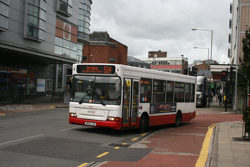 Abellio Surrey 8066 on Route 514, Kingston Cromwell Road