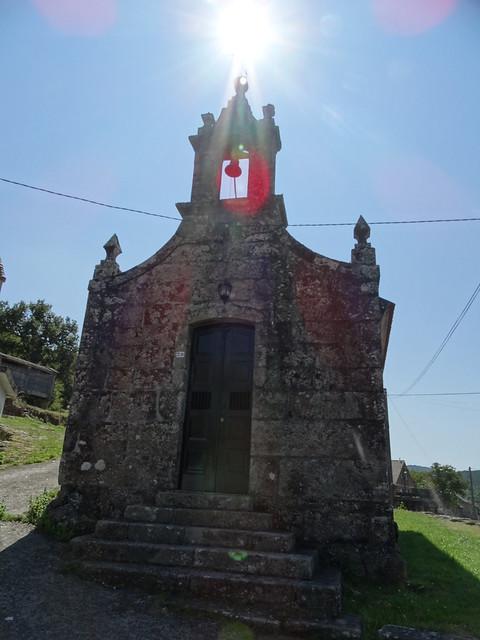 Capilla de Nosa Señora do Loreto en Meilide en Cerdedo