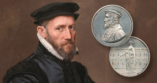 Sir-Thomas-Gresham-medal-and-painting