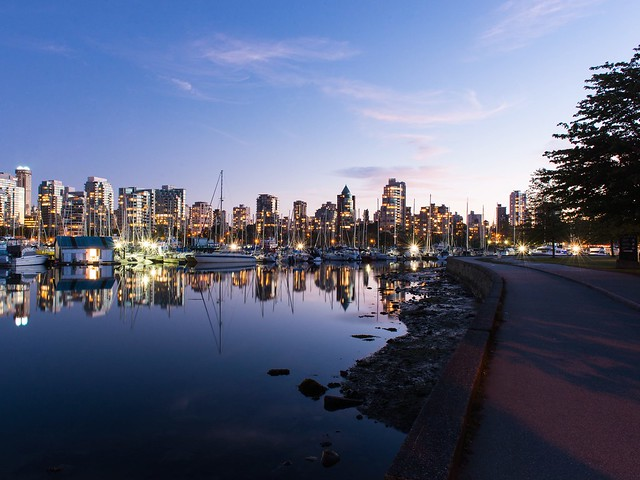 Late Night Walk Around Stanley Park