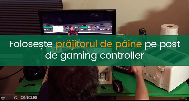 toaster gaming controller