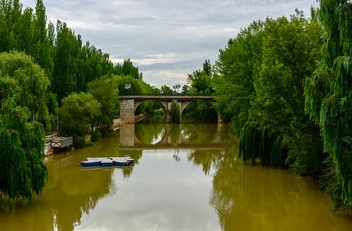 Aranda de Duero. Parque fluvial