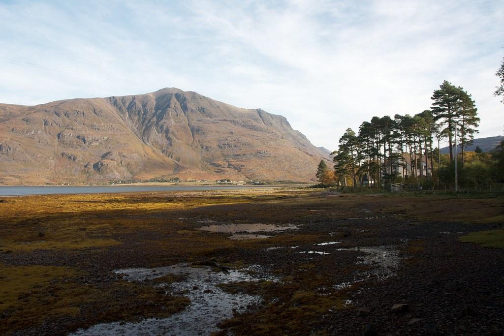 Liathach across Upper Loch Torridon
