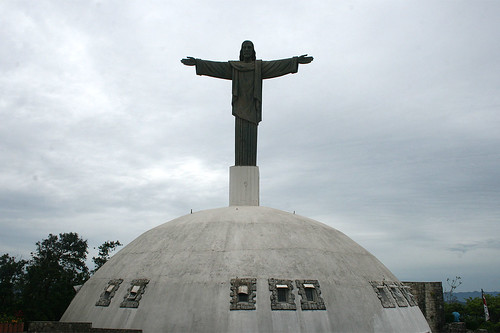 Statue of Christ our Lord on Mount Isabel de Torres