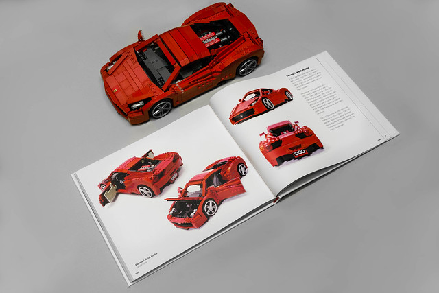 Ferrari 458 Italia in Art of LEGO Scale Modeling