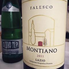 E dopo la pioggia romana scaldiamoci #vino #visioni #wine #montiano