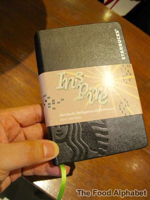 Starbucks Planner 2016
