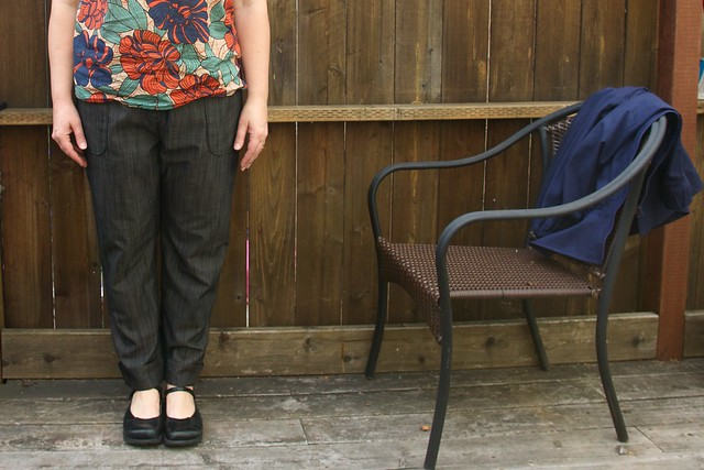 Moji pants with flats