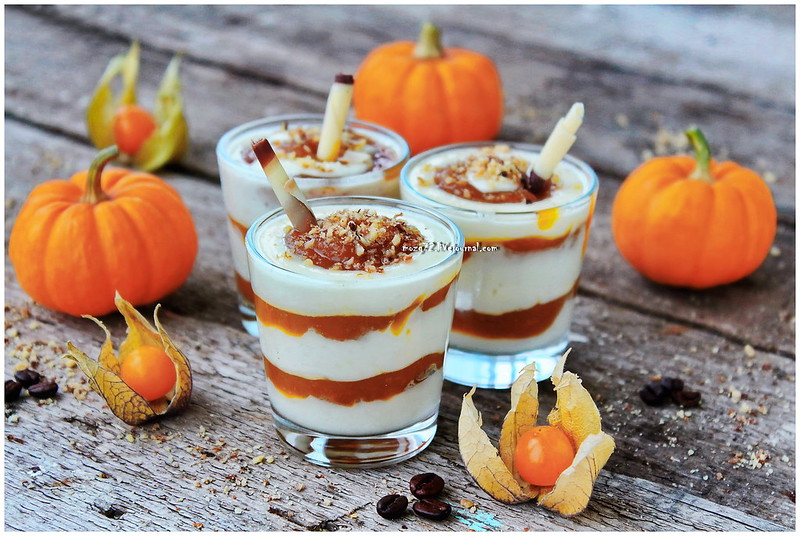 ...parfait of pumpkin coffee and rum
