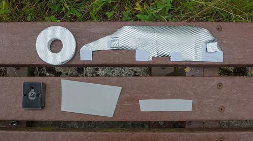 Macro Lite Concave Diffuser Components