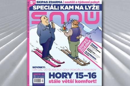 SNOW 92 time - speciál o lyžařské dovolené 2015/2016