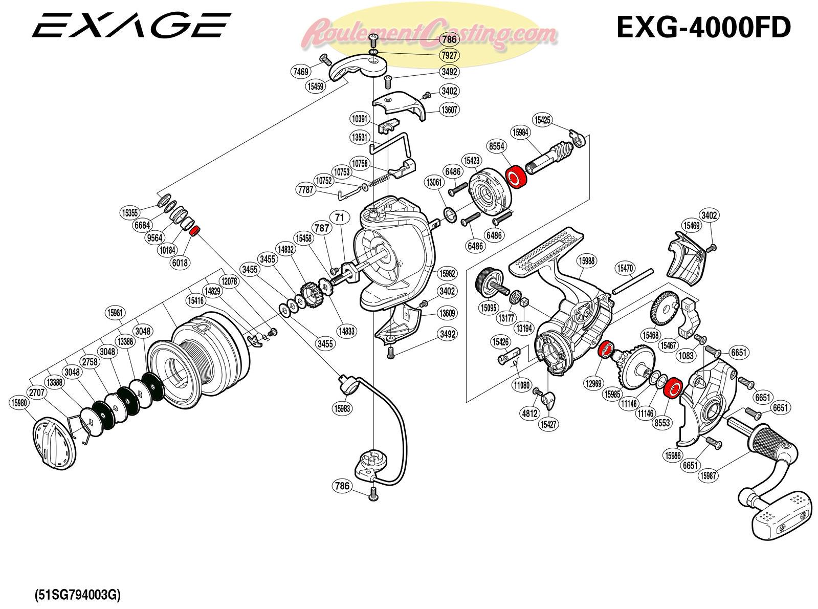 Schema-Shimano-EXAGE-4000FD