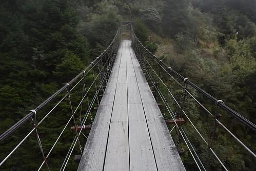 能高越嶺步道-能高瀑布吊橋