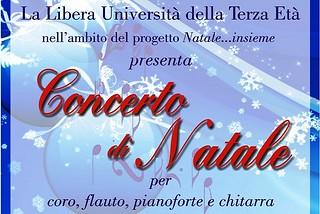 Noicattaro. Concerto di Natale Lute front