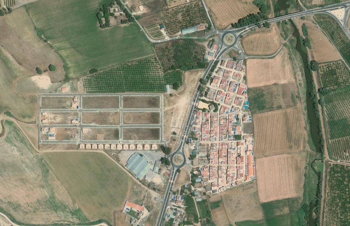los pajares, sevilla, the andies, después, urbanismo, planeamiento, urbano, desastre, urbanístico, construcción, rotondas, carretera