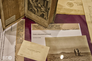 Salvatore Crotta, Biblioteca di Como
